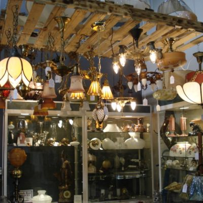 Vintage lighting parts n a hannah rose antiques